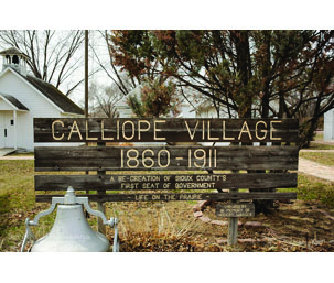 Hawarden Historical Society/Calliope Village Card Image