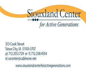 Siouxland Center for Active Generations Card Image
